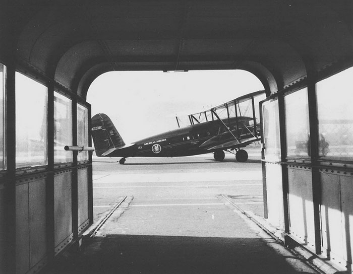 Passenger Canopy to Awaiting Curtiss AT-32A Condor, Ca. 1934-1936 (Source: Site Visitor)